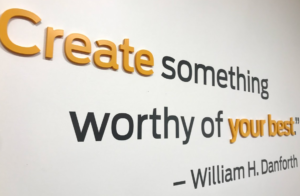 Create something worthy of your best