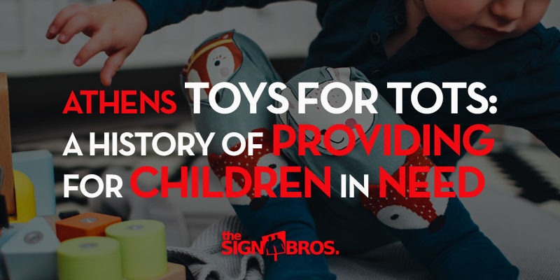 Athens Toys For Tots: A History of Providing For Children In Need