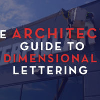 Architects guide to dimensional lettering