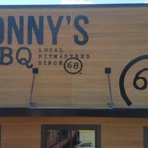 restaurant exterior branding
